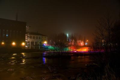 Sumuinen Tikkurilankoski - Misty Tikkurila rapid Vantaa 2012
