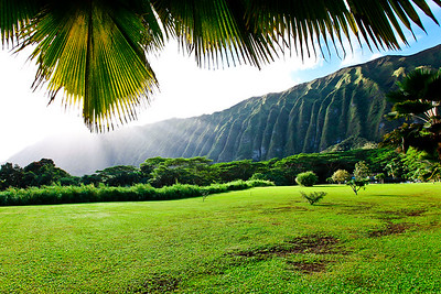 Koolau Mountains in Waimanalo