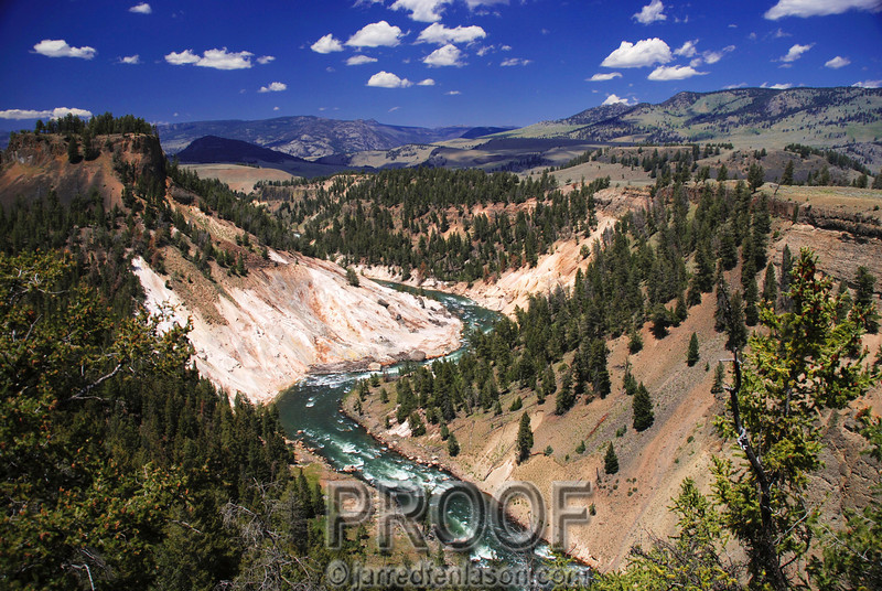 Little Grand Canyon of Yellowstone