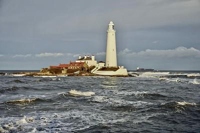High Tide St. Mary's Island