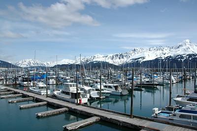 Marina in Seward, Alaska