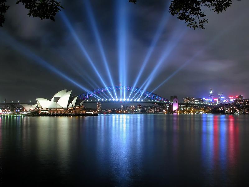 Sydney Harbour 12 Jan 2004.