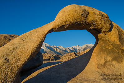Mt. Whitney through Mobius Arch - Lone Pine, CA, USA