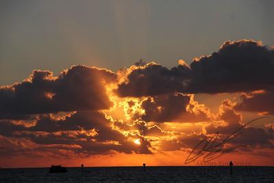 Sunrise over Biscayne Bay
