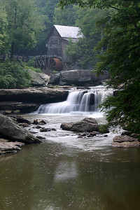 The mill at Babcock State Park, WV