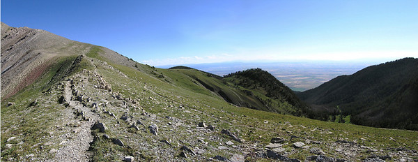 From top of Sacagewea Peak, Bozeman