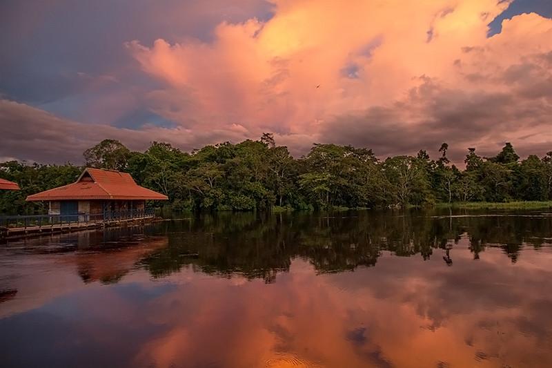 Uakari Lodge, Mamirauá Reserve, Amazon, Brazil