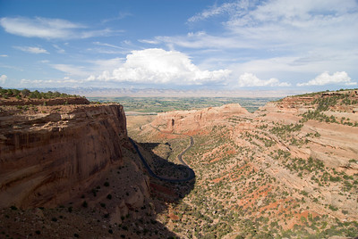 2007 Colorado Trip - Colorado National Monument View