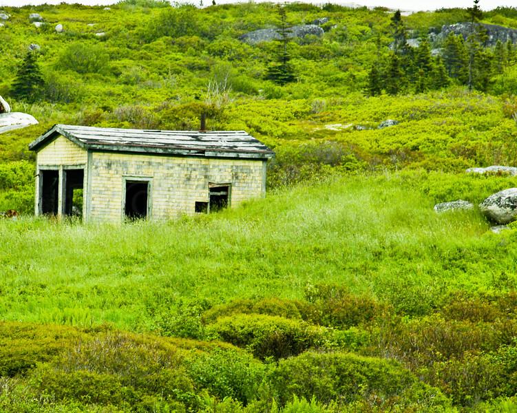 Old Building-Peggy's Cove, Nova Scotia