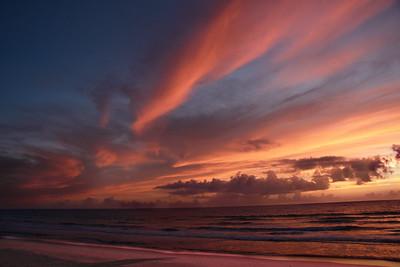 Sunrise Exploding