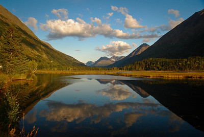 Tern Lake Junction Kenai Peninsula Alaska © 2009