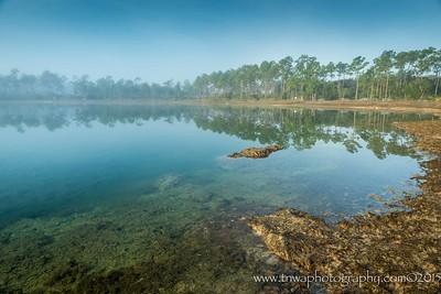 Sunrise at the Lake Everglades National Park Florida © 2015  TNWA Photography / Debbie Tubridy