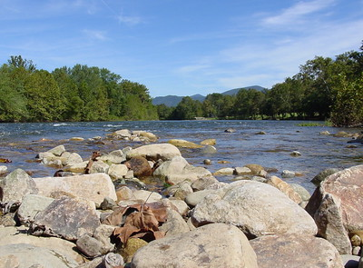 James River at Jellystone Campground, near Natural Bridge, Va.