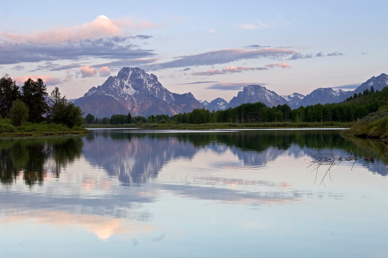 Oxbow Bend.  Grand Teton National Park