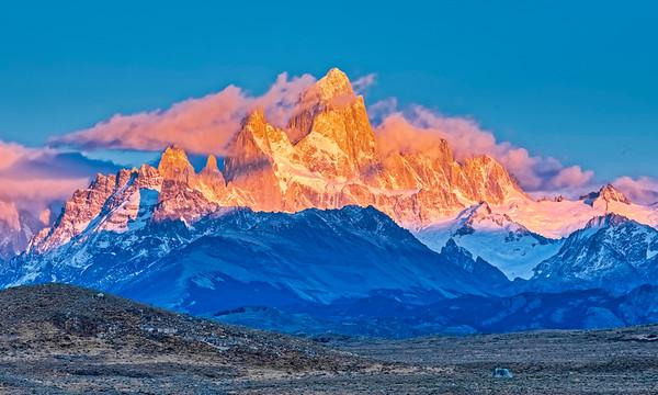 Sunrise on Fitz Roy, Patagonia