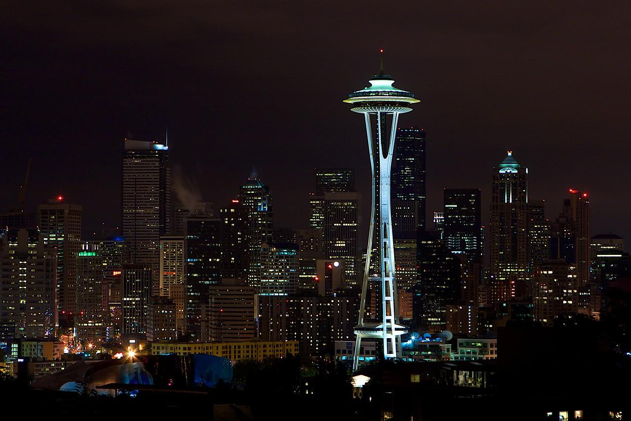 Seattle Skyline, Kerry Park