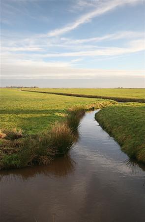 Friesland, Nederland.