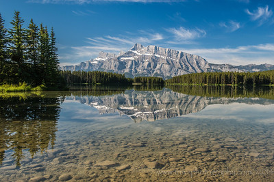 Two Jack Lake Banff National Park Alberta, Canada © 2014