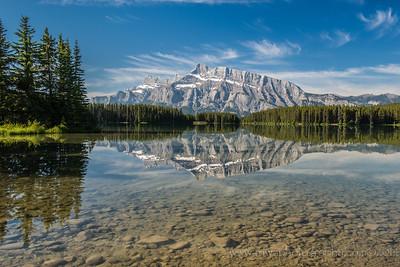 Two Jack Lake Banff National Park Alberta, Canada © 2014