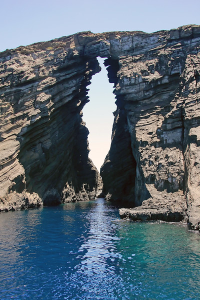 """The Keyhole"" - Island of Lehua, Hawaii"