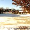 Frozen Lake in winter in Waukegan, IL in Lakehurst Apartment