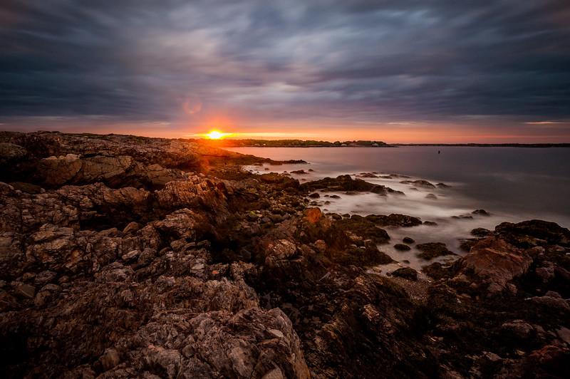 Sunset at Chandler Hovey Park - Massachusetts, USA