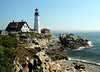 Portland Head Lighthouse was commissioned by George Washington.