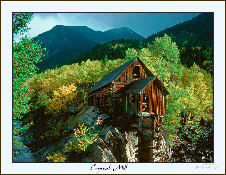 Crystal Mill framed