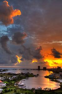 HDR dawn, Pensacola Beach, Fl
