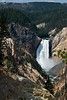 Lower Falls, Yellowstone River, Yellowstone National Park, Wyoming<br /> August 2009