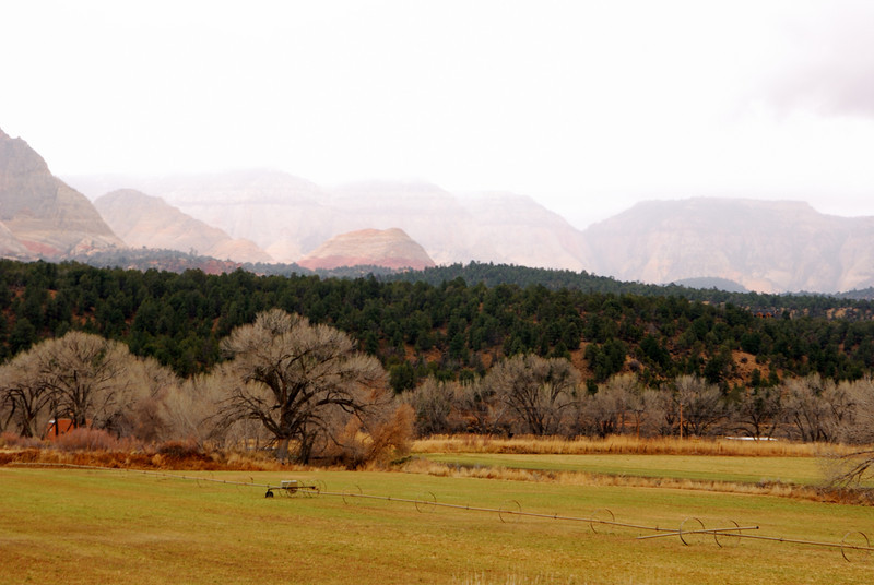 View from Route 89 in Southern Utah. Nov. 2008.