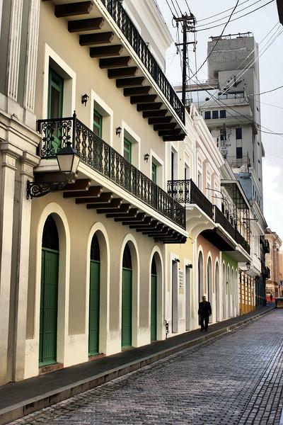 Street, Old San Juan, Puerto Rico