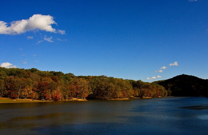 Brown County State Park, Indiana (Lake Ogle)