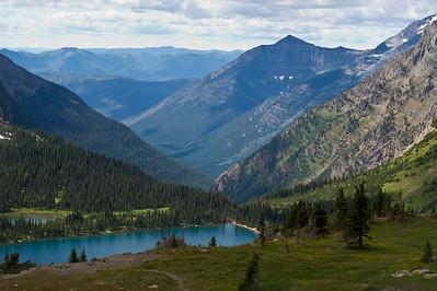 Hidden Lake Hidden Lake Overlook Trail, Logan Pass Glacier National Park, Montana © 2011