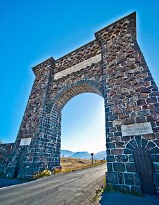 Yellowstone Arch - Northern Entrance Yellowstone National Park Gardiner, Montana © 2012