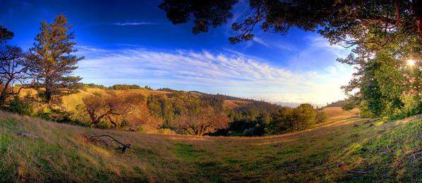 Meyers Grade Panorama