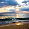 Maui Sunset at Big Beach