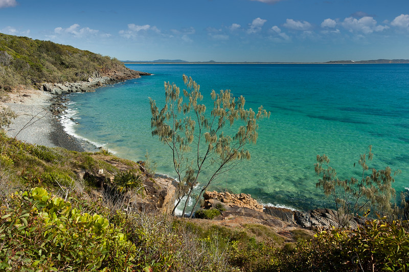 Granite Bay. Noosa National Park. Queensland