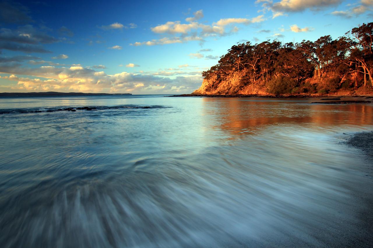 Wimbie beach, batemans bay, nsw