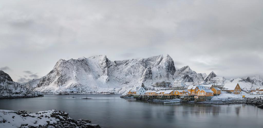 Sakrisoy Fishing Village - Lofoten, Norway