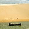 Giant Sand dune at Jericoacoara