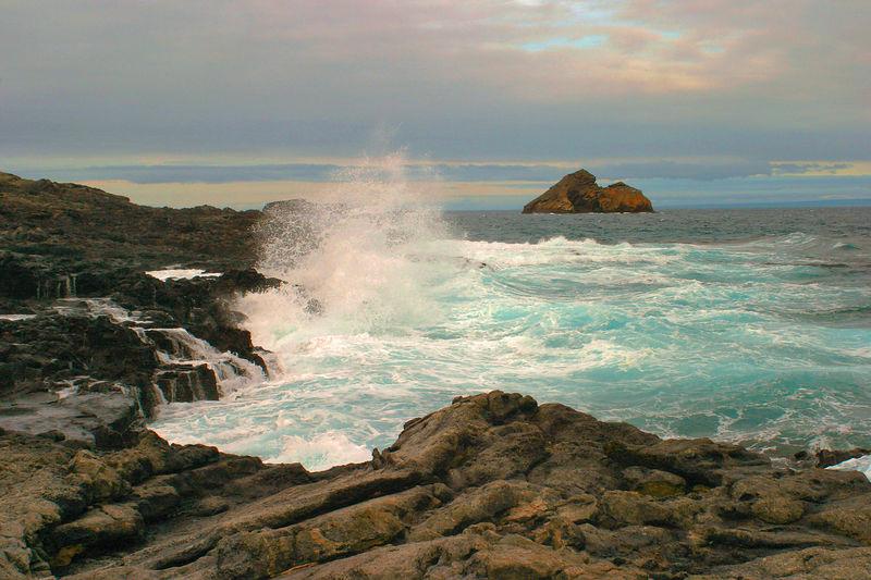 """Serenity""<br /> Ecuador, Galapagos Islands National Park, Sombrero Chino (Chinese Hat) Island"