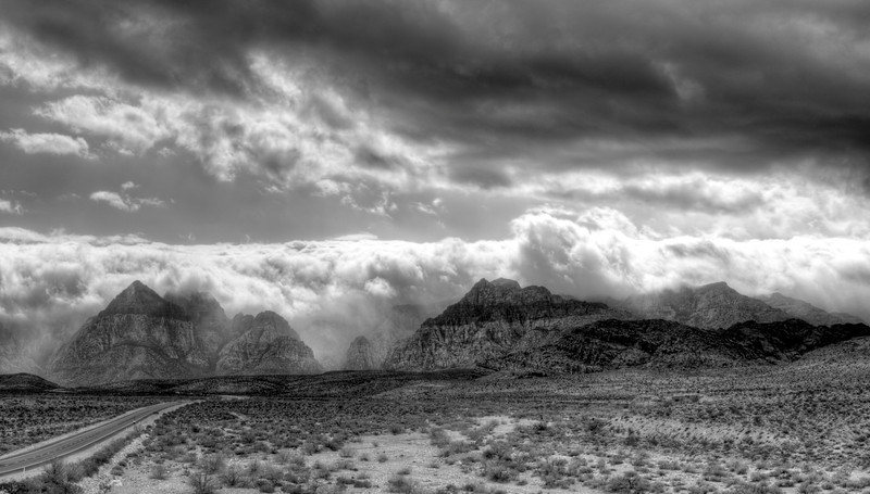 The Gathering Storm, Red Rock Canyon