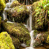 Waterfall on small stream, Great Smoky Mountains National Park, North Carolina