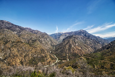Landscape: Forks Rivers Converge | Kings Canyon National Park