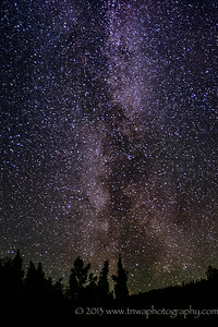 Reach for the Stars Milky Way Healy, Alaska © 2013