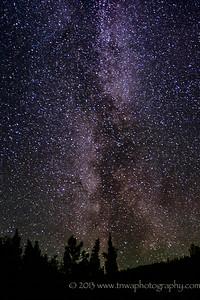 Reach for the Stars Milky Way Healy, Alaska © 2013