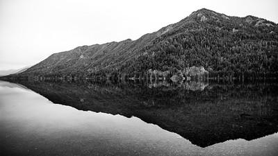 Lake Crescent from the Lake Crescent Lodge, Washington