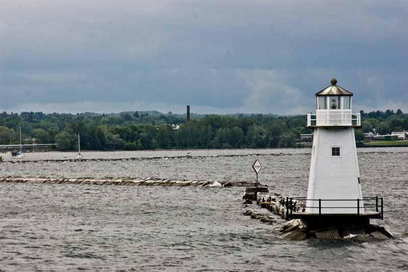 Breakwater Lighthouse-Burlington, VT, from a ferry.