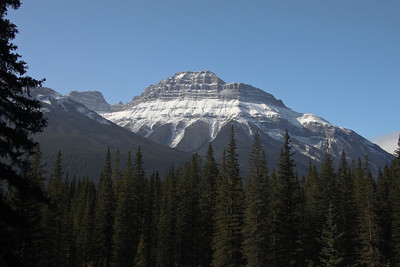 Mountain photo, Banff National Park, taken from Bow Valley Parkway, October, 2009